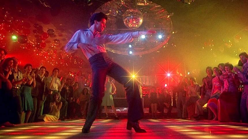John travolta disco dancing